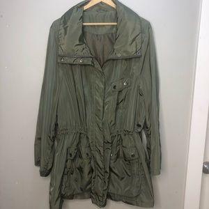 Size 4x Pennington's Green spring jacket